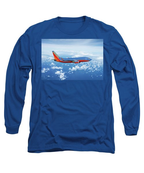 Southwest Boeing 737-700 Long Sleeve T-Shirt