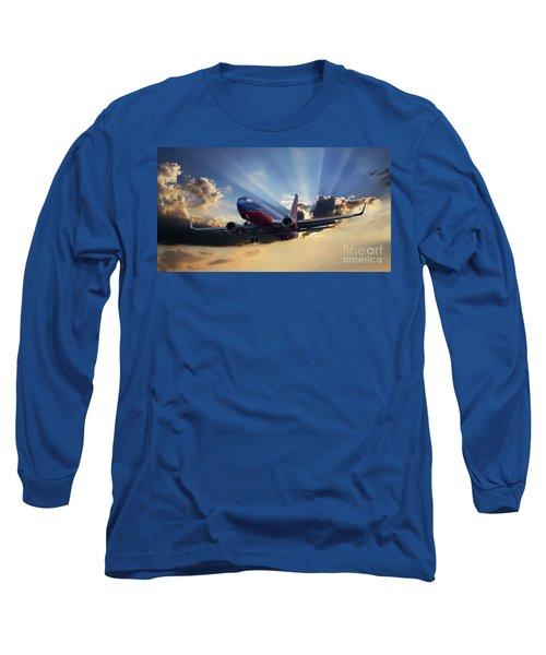 Southwest Dramatic Rays Of Light Long Sleeve T-Shirt