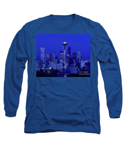 Space Needle, Seattle Long Sleeve T-Shirt