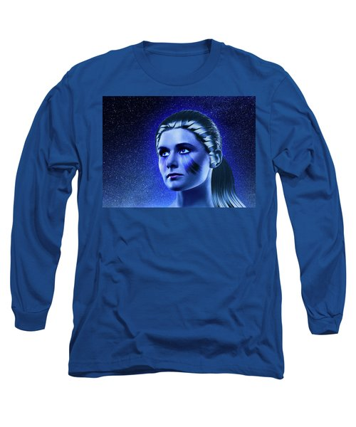 Space Odyssey Long Sleeve T-Shirt by Scott Meyer