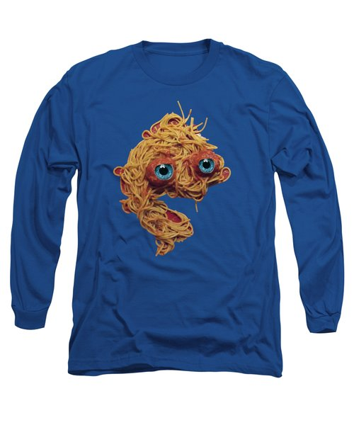 Spaghetti Face Long Sleeve T-Shirt