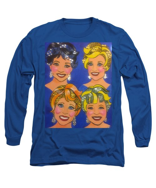 Sparkle Long Sleeve T-Shirt by Marilyn Jacobson