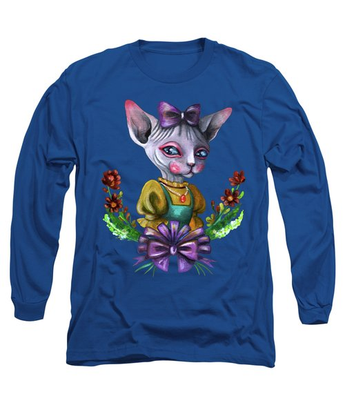Sphynx Girl Long Sleeve T-Shirt