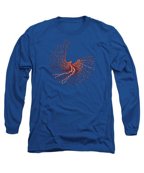 Spirit In Flight Transparent Long Sleeve T-Shirt by Wendy Rickwalt