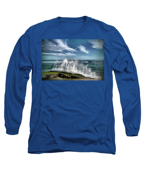 Splash Happy Long Sleeve T-Shirt by Kym Clarke