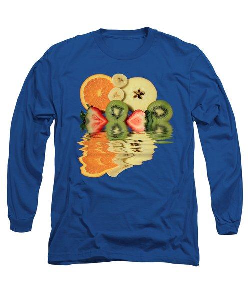 Split Reflections Long Sleeve T-Shirt