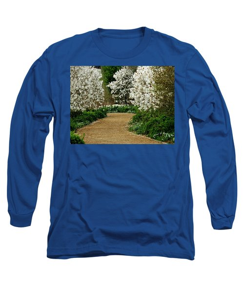 Spring Flowering Trees Wall Art Long Sleeve T-Shirt