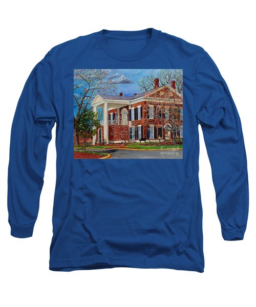 Spring Planting At The Dahlonega Gold Museum Long Sleeve T-Shirt
