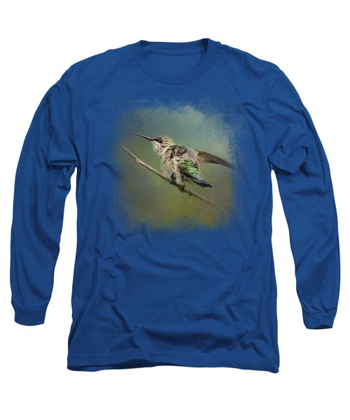 Spring Storm Hummingbird Long Sleeve T-Shirt