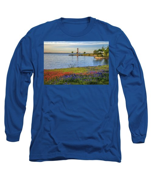 Spring Wildflowers Of Lake Buchanan Long Sleeve T-Shirt
