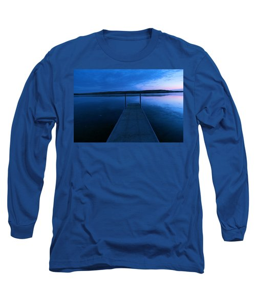 Springbrook Lake At Dawn Long Sleeve T-Shirt