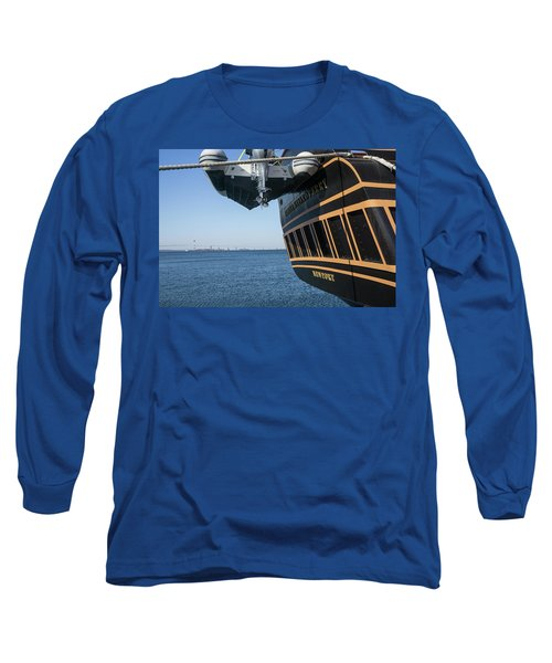 Ssv Oliver Hazard Perry Close Up Long Sleeve T-Shirt
