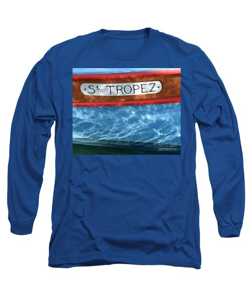 St. Tropez Long Sleeve T-Shirt by Lainie Wrightson