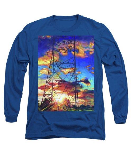 Stand Tall Long Sleeve T-Shirt by Bonnie Lambert