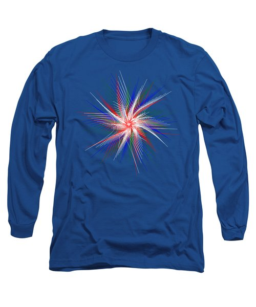 Long Sleeve T-Shirt featuring the digital art Star In Motion By Kaye Menner by Kaye Menner