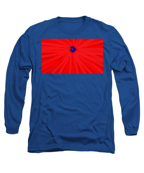 Starburst 2' By Sumi E Master Linda Velasquez Long Sleeve T-Shirt