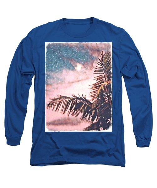 Starlight Palm Long Sleeve T-Shirt