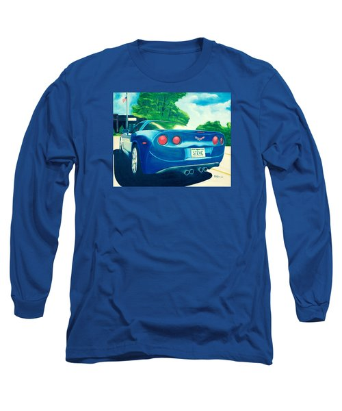 Steve's Corvette Long Sleeve T-Shirt