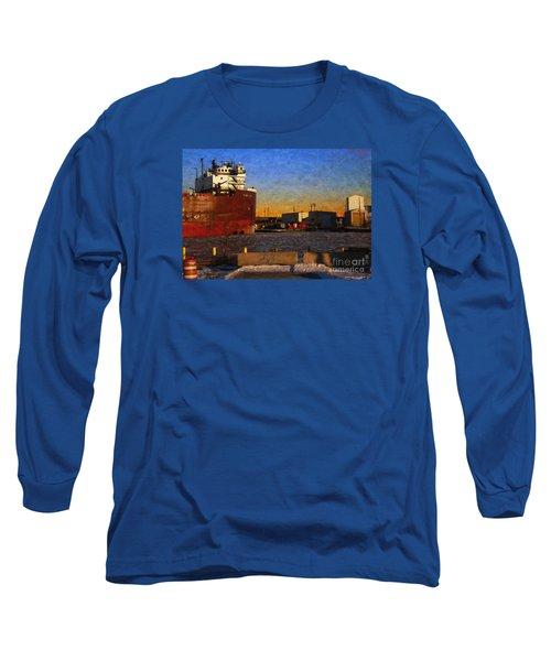 Long Sleeve T-Shirt featuring the digital art Stewart J. Cort by David Blank