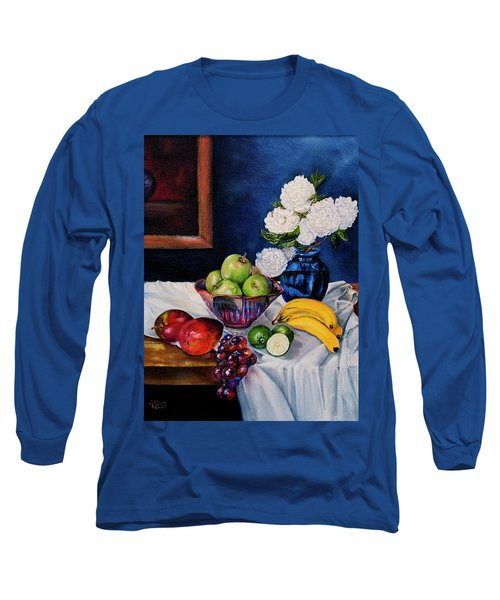 Still Life With Snowballs Long Sleeve T-Shirt