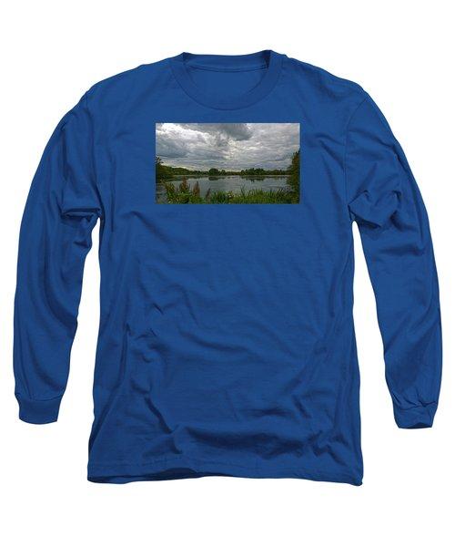 Still Waters Long Sleeve T-Shirt by Anne Kotan