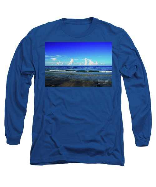 Long Sleeve T-Shirt featuring the photograph Storm On The Horizon by Gary Wonning