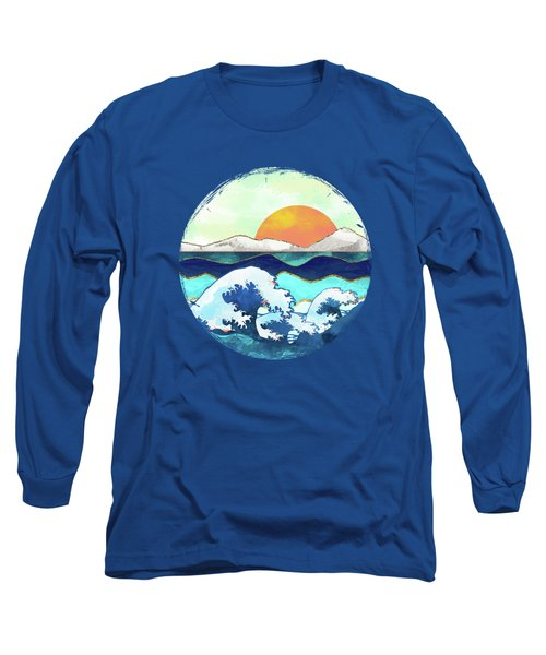 Stormy Waters Long Sleeve T-Shirt by Spacefrog Designs