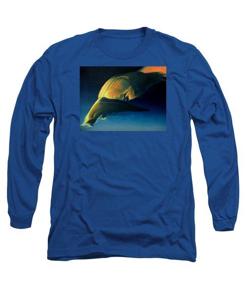 Strange Weather Long Sleeve T-Shirt by Vivien Rhyan