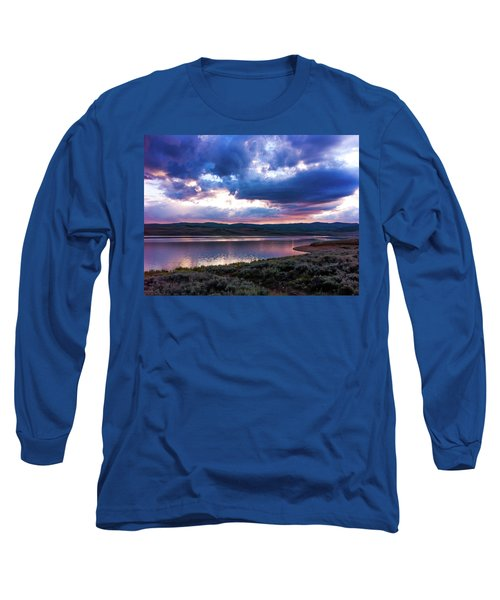 Strawberry Sunset Long Sleeve T-Shirt