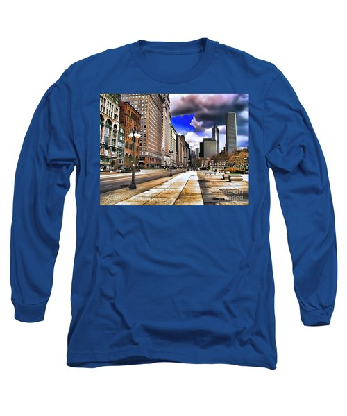 Streets Of Chicago Long Sleeve T-Shirt
