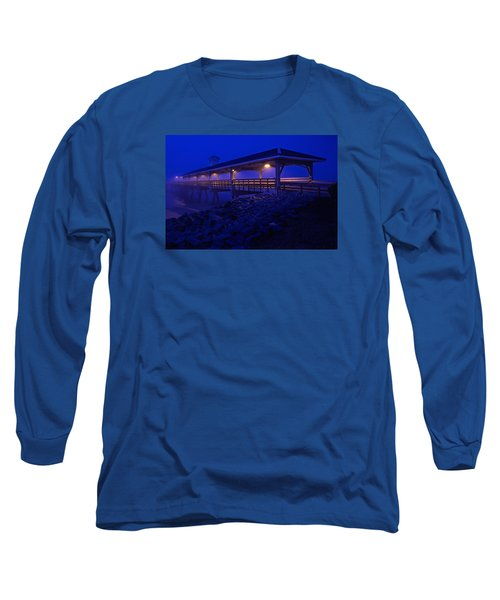 Once In A Blue Mood Long Sleeve T-Shirt by Laura Ragland