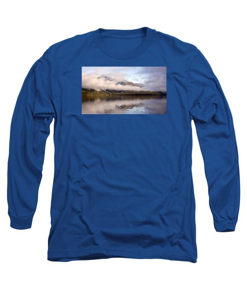 Sullivan Island Sunset Long Sleeve T-Shirt by Michele Cornelius