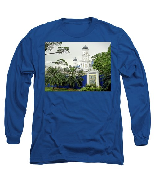 Sultan Abu Bakar Mosque Long Sleeve T-Shirt