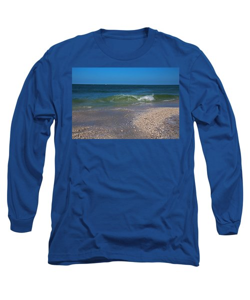 Long Sleeve T-Shirt featuring the photograph Summer At The Shore by Michiale Schneider