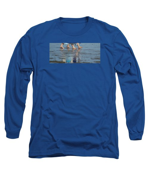 Summer Feet   #1 Long Sleeve T-Shirt by Margie Avellino