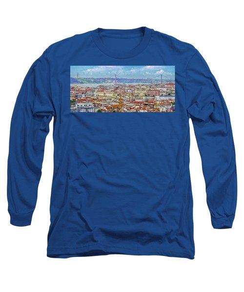 Summer In Lisbon Long Sleeve T-Shirt