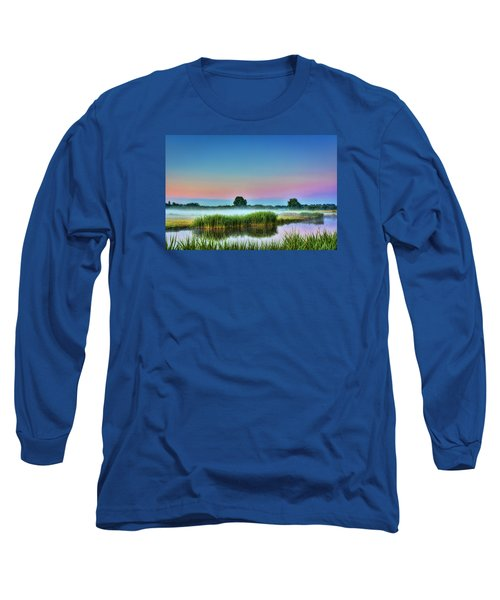 Summer Sunrise Long Sleeve T-Shirt by Nadia Sanowar