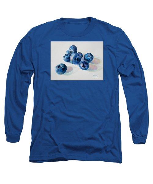 Summertime Blues Long Sleeve T-Shirt by Pamela Clements