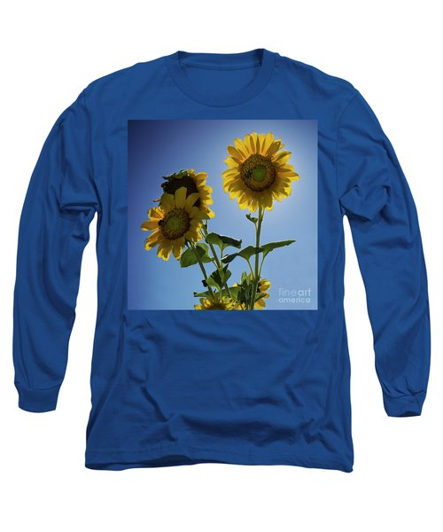 Sun Flowers Long Sleeve T-Shirt