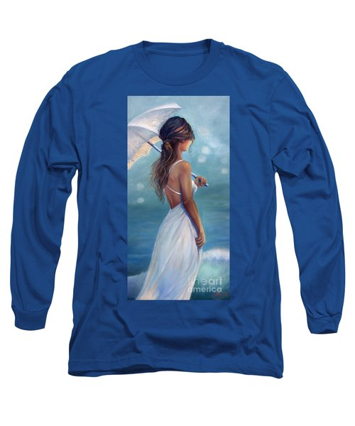 Long Sleeve T-Shirt featuring the painting Sun Kissed by Michael Rock