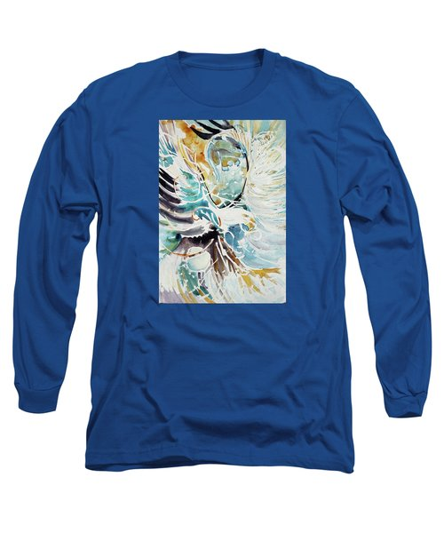Sun Moon Water Sky Long Sleeve T-Shirt