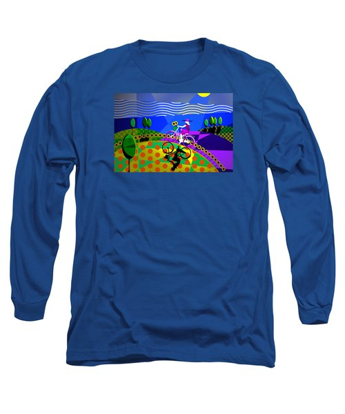 Sunny Acres Long Sleeve T-Shirt by Randall Henrie
