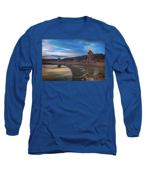 Sunrise At Mono Lake Long Sleeve T-Shirt