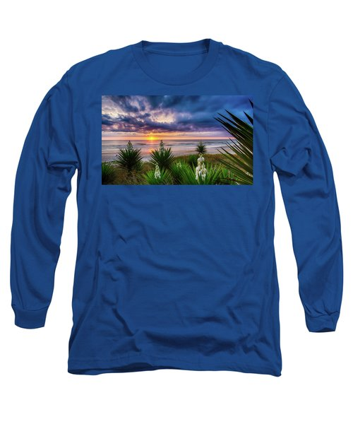 Sunrise Blooms Long Sleeve T-Shirt