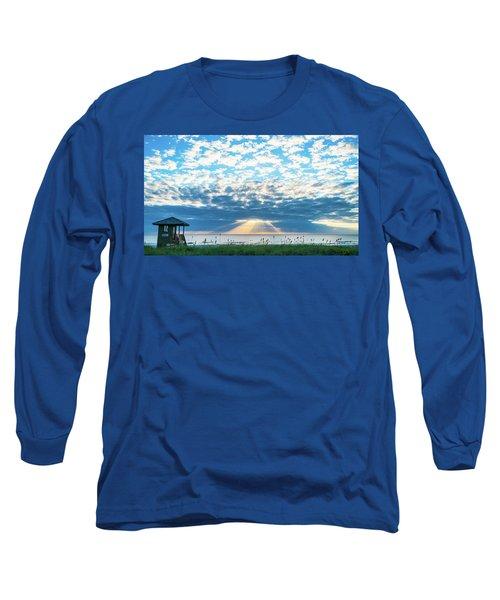 Sunrise Hope Delray Beach Florida Long Sleeve T-Shirt
