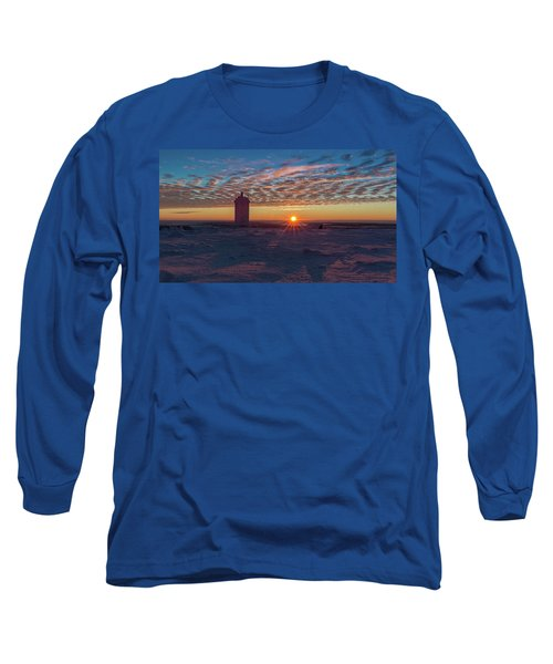 Sunrise On The Brocken, Harz Long Sleeve T-Shirt