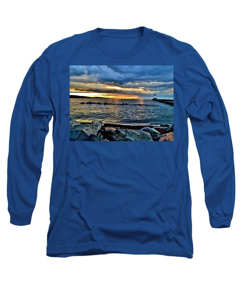 Sunrise On The Rocks Long Sleeve T-Shirt