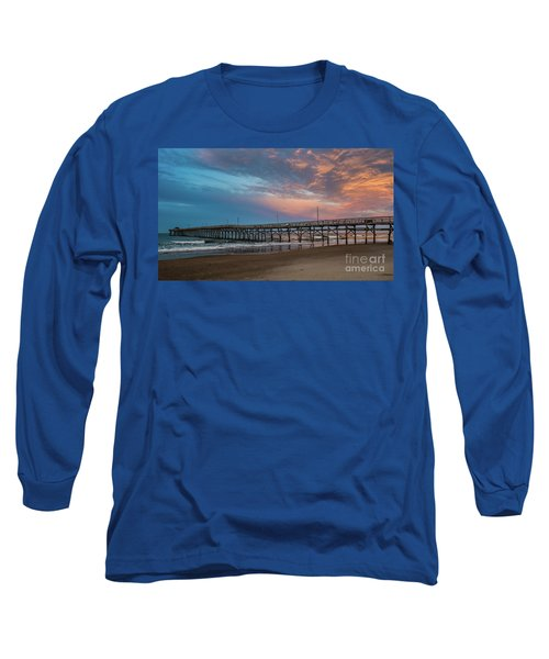 Sunset Over The Atlantic Long Sleeve T-Shirt by Scott and Dixie Wiley