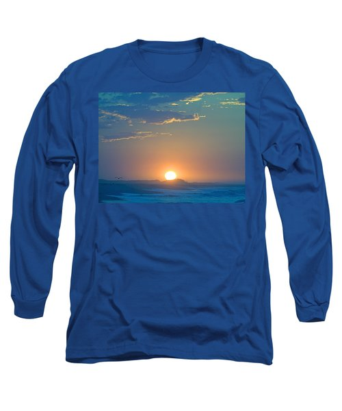 Long Sleeve T-Shirt featuring the photograph Sunrise Sky by  Newwwman