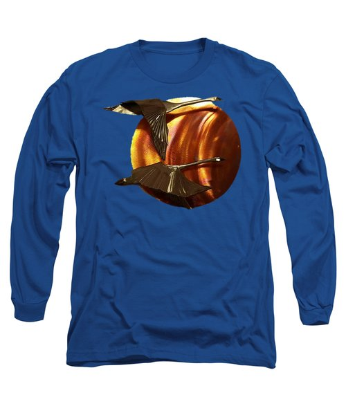 Sunrise Long Sleeve T-Shirt by Troy Rider